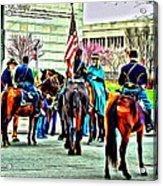 Constitution Hall Calvary Acrylic Print