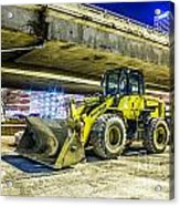 Construction At Rest Acrylic Print