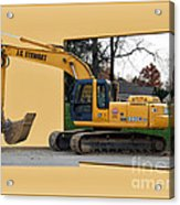 Construction Equipment 01 Acrylic Print