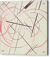 Constructivist Composition, 1922 Acrylic Print
