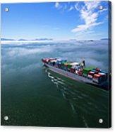 Container Ship Acrylic Print