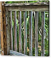Containment Acrylic Print by Wendy J St Christopher