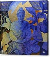 Contemplation - Buddha Meditates Acrylic Print
