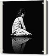 Contemplation In Dark Acrylic Print by Pedro L Gili