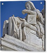 Contemplation Of Justice 1 Acrylic Print