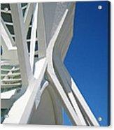 Contemporary Architecture In Valencia Acrylic Print
