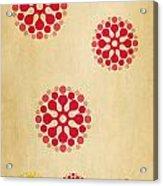 Contemporary Dandelions 1 Part 1 Of 3 Acrylic Print