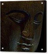 Contented Buddha Acrylic Print
