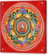 Continuing Mandala Acrylic Print