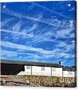 Contrails Over The Cobb Acrylic Print
