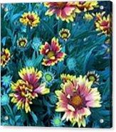 Contrasting Colors Orignial Acrylic Print