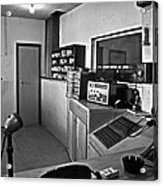 Control Room In Alcatraz Prison Acrylic Print