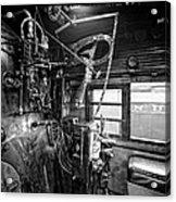 Controls Of Steam Locomotive No. 611 C. 1950 Acrylic Print