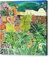 Convent Gardens Antigua Acrylic Print
