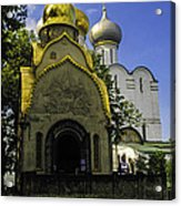 Convent - Moscow - Russia Acrylic Print