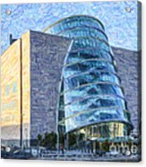 Convention Centre Dublin Republic Of Ireland Acrylic Print