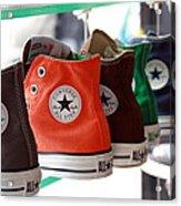 Converse Star Sneakers Acrylic Print