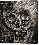 Convulsed Memento Mori  Acrylic Print