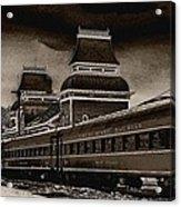 Conway Rail Station Acrylic Print