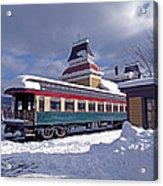 Conway Railroad Acrylic Print