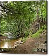 Cook Forest Toms Run Steps Acrylic Print
