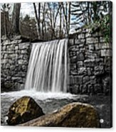 Cook Forest Waterfall Acrylic Print
