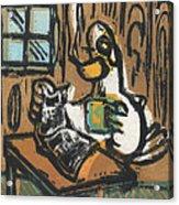 Cooked Goose Acrylic Print by Mathew Luebbert