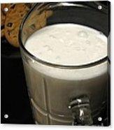 Cookies And Milk Acrylic Print