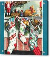 Cookies For Santa Acrylic Print