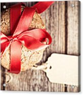 Cookies With Tag Retro Acrylic Print