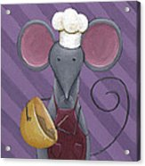 Cooking Mouse Kitchen Art Acrylic Print