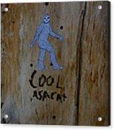 Cool Asacat Acrylic Print