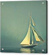 Cool Blue Sea Acrylic Print