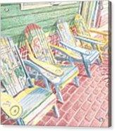 Cool Chairs Acrylic Print