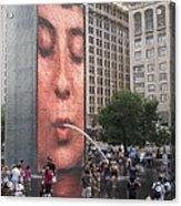 Cool Crowd Acrylic Print