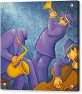 Cool Jazz Trio Acrylic Print