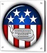 Cool National Guard Insignia Acrylic Print