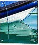 Cool Ocean Blues Acrylic Print