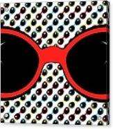 Cool Retro Red Sunglasses Acrylic Print