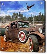Cool Rusty Classic Ride Acrylic Print