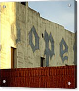 Coopers Ghost Sign 14476 Acrylic Print