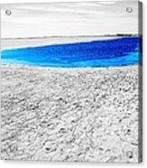 Coorong Sandy Bay Acrylic Print