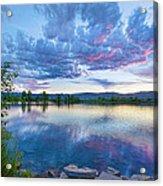 Coot Lake View Acrylic Print