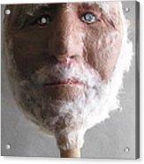 Coot On A Stick Acrylic Print