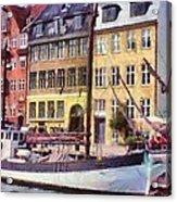 Copenhagen Acrylic Print by Jeff Kolker