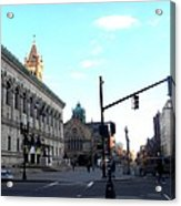 Copley Square - Old South Church Acrylic Print