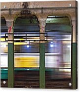 Copley Station Acrylic Print