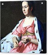 Copley's Abigail Smith Babcock Or Mrs. Adam Babcock Acrylic Print