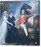 Copley's Colonel William Fitch And His Sisters Sarah And Ann Fitch Acrylic Print