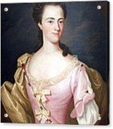 Copley's Jane Browne -- Mrs. Samuel Livermore Acrylic Print